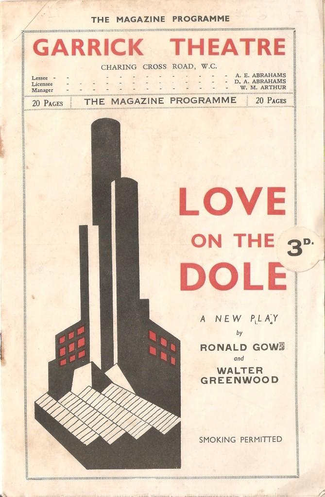 Garrick Programme 1935