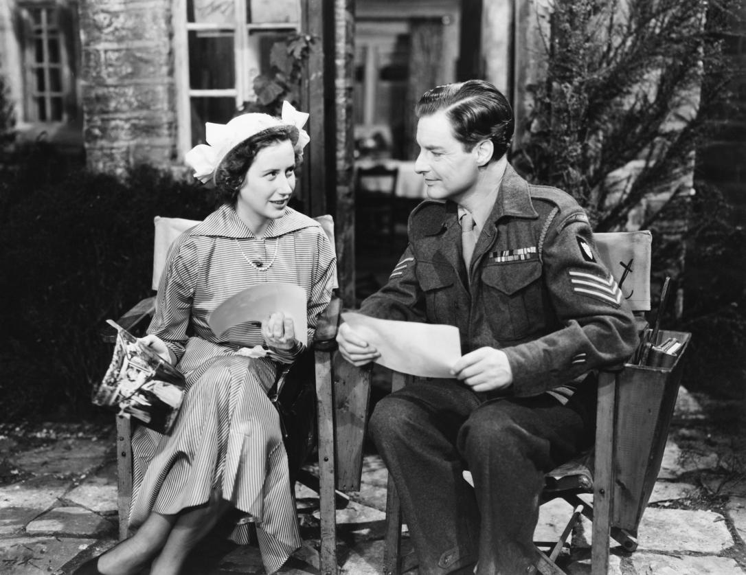 THE CURE FOR LOVE, from left: Thora Hird, Robert Donat, 1949