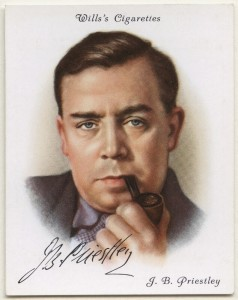 JB-Priestley Wills Cigarette Card