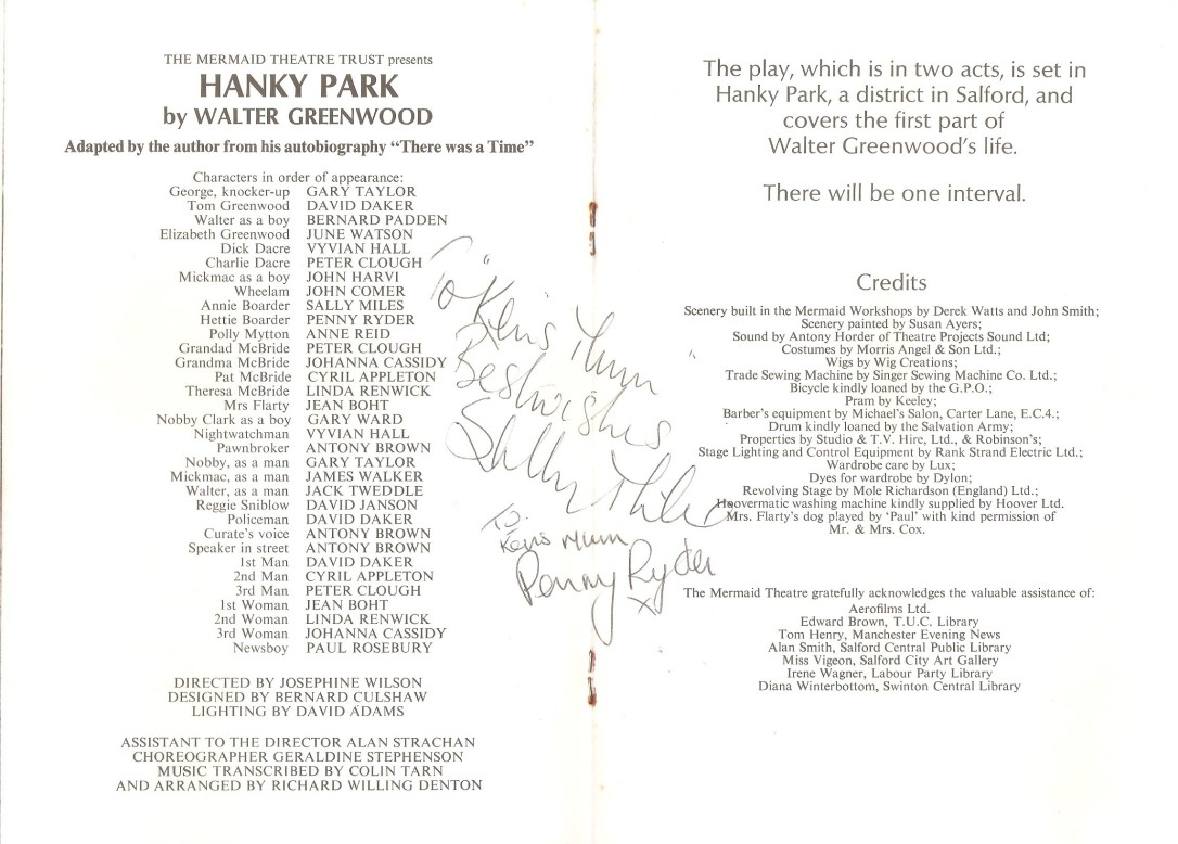 Signed Mermaid Programme 1971